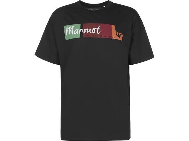 Marmot 5.15 T-Shirt Homme, black